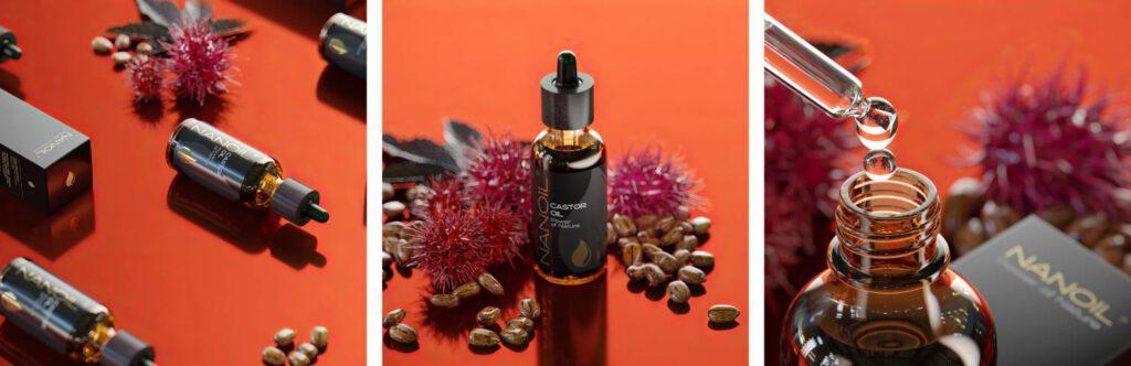 Nanoil Rizinusöl zur Gesichtspflege